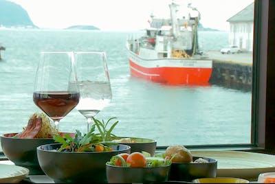 Utsikt XL Diner Klippfisk Bacalao Mat Ålesund Sunnmøre