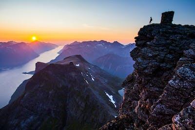 Jakta Hjørundfjorden Høst Sunnmøre