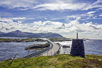 Atlanterhavsveien Himmel Skyer Nordvest