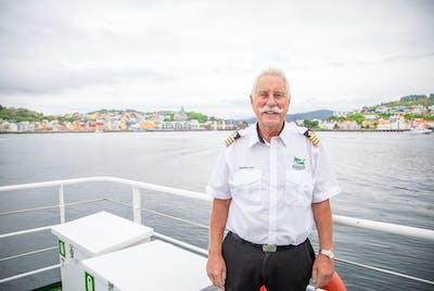 Ragnvald Todal er kaptein på Sundbåten.