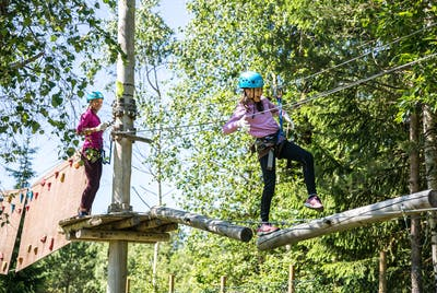 Valldal Aktivitetspark Barn Leker Klatrepark Sunnmøre